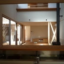 銚子の家の写真 キッチンからリビングダイニング方向を見る