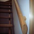 坪井町の家の写真 つい握りたくなる大工手造りの階段手摺