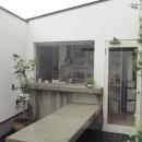 石川淳の住宅事例「静岡の二世帯住宅  中庭に小屋を持つOUCHI-15」