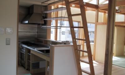 船橋S邸 (オープンなオリジナルキッチン)