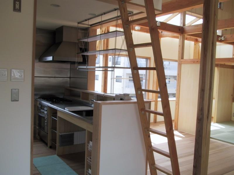 船橋S邸の部屋 オープンなオリジナルキッチン