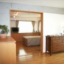 北区神谷の家の写真 3階寝室