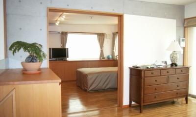 北区神谷の家 (3階寝室)