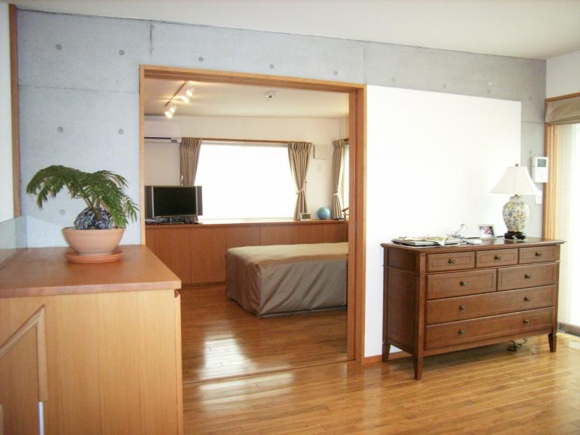 北区神谷の家の部屋 3階寝室