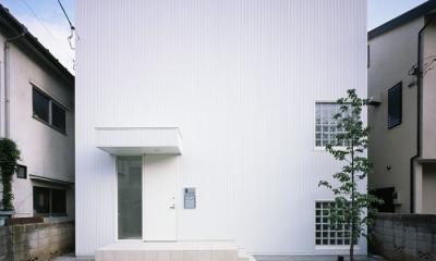 奥沢の家~ルーフガーデンの家