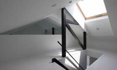オウチ10・湧水を楽しむ家 (屋根裏ロフト)