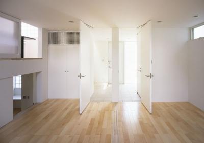 子供室 (奥沢の家~ルーフガーデンの家)