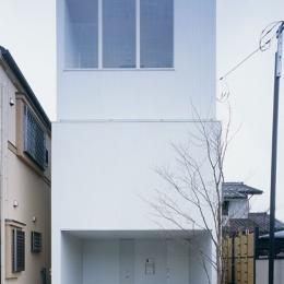 東大和の家~3層の家 (外観)