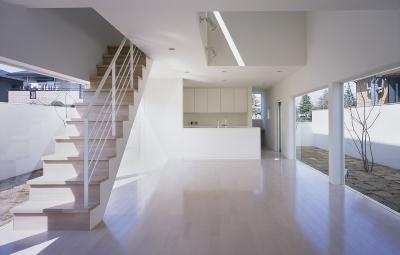 白井の家Ⅱ~東西庭の家 (LDK1)