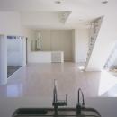 白井の家Ⅱ~東西庭の家の写真 LDK2