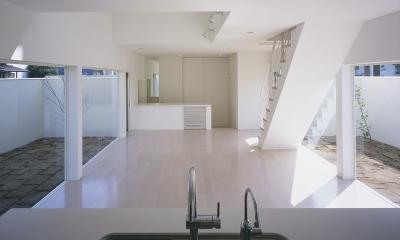 白井の家Ⅱ~東西庭の家 (LDK2)