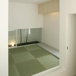 白井の家Ⅱ~東西庭の家-和室1