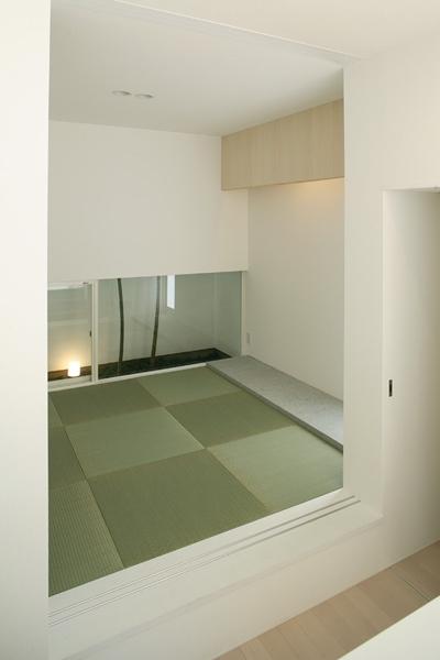 和室1 (白井の家Ⅱ~東西庭の家)
