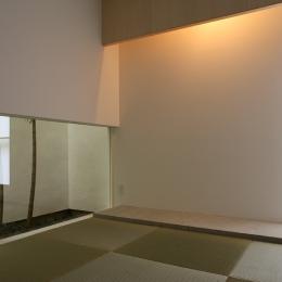 白井の家Ⅱ~東西庭の家-和室2