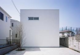 善福寺の家~インナーガーデンの家 (外観2)