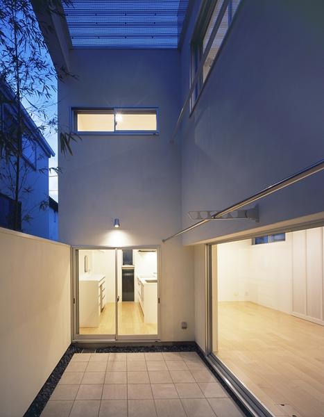 善福寺の家~インナーガーデンの家の部屋 インナーガーデン2