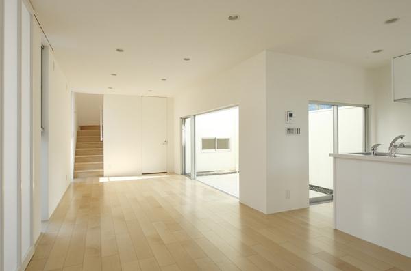 善福寺の家~インナーガーデンの家の部屋 LDK