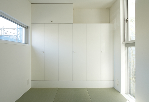 善福寺の家~インナーガーデンの家 (和室)