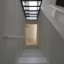 オウチ10・湧水を楽しむ家の写真 シンプルな階段