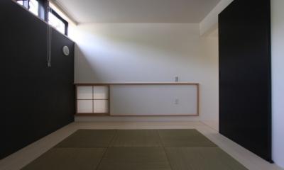 オウチ10・湧水を楽しむ家 (地窓のある和室)