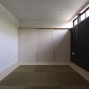 オウチ10・湧水を楽しむ家の写真 フチ無し畳の和室