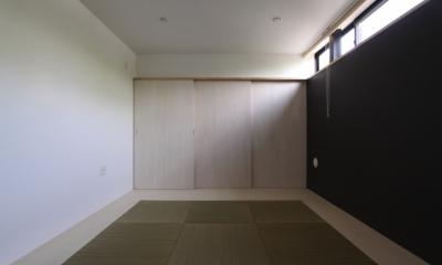 オウチ10・湧水を楽しむ家 (フチ無し畳の和室)