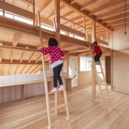 レンハウス (子供室とロフト)