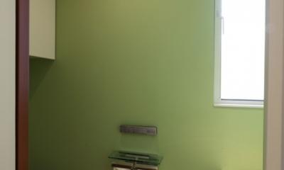 Vermilion Wall