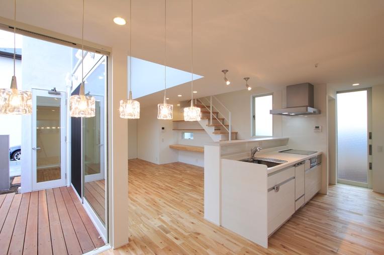 White Prismの部屋 キッチン