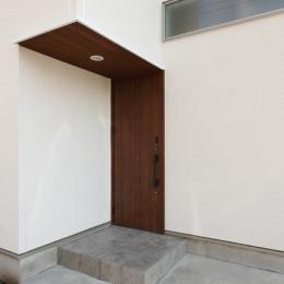Asian house (玄関2(外))