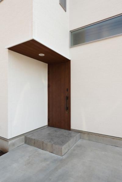 玄関2(外) (Asian house)