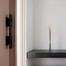 波紋の家 玄関