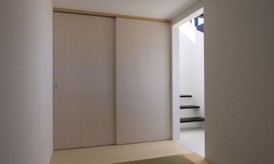 斜め窓の家 OUCHI-06 (和室)