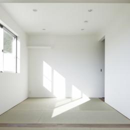 白い原石の家 (白い原石の家 和室)