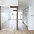吉川直行の住宅事例「白い原石の家」