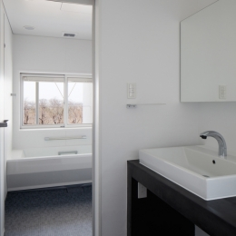 波紋の家 洗面所