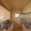 セミオープンなキッチン
