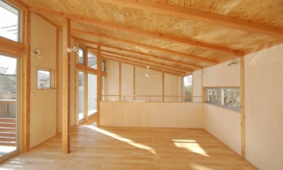 地下の音楽スタジオのある家 (2階の子ども室)