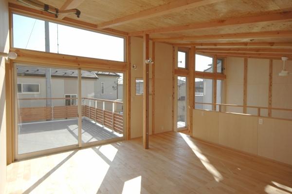地下の音楽スタジオのある家の部屋 2階の子ども室
