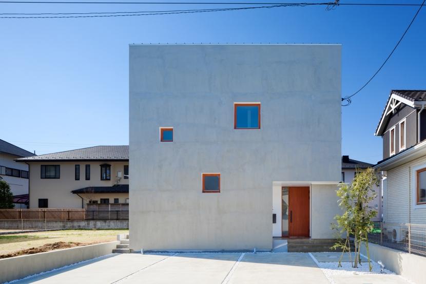 建築家:吉川直行「久保ケ丘の家」