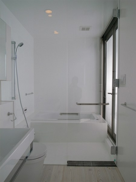 研究学園の家 (研究学園の家 浴室)