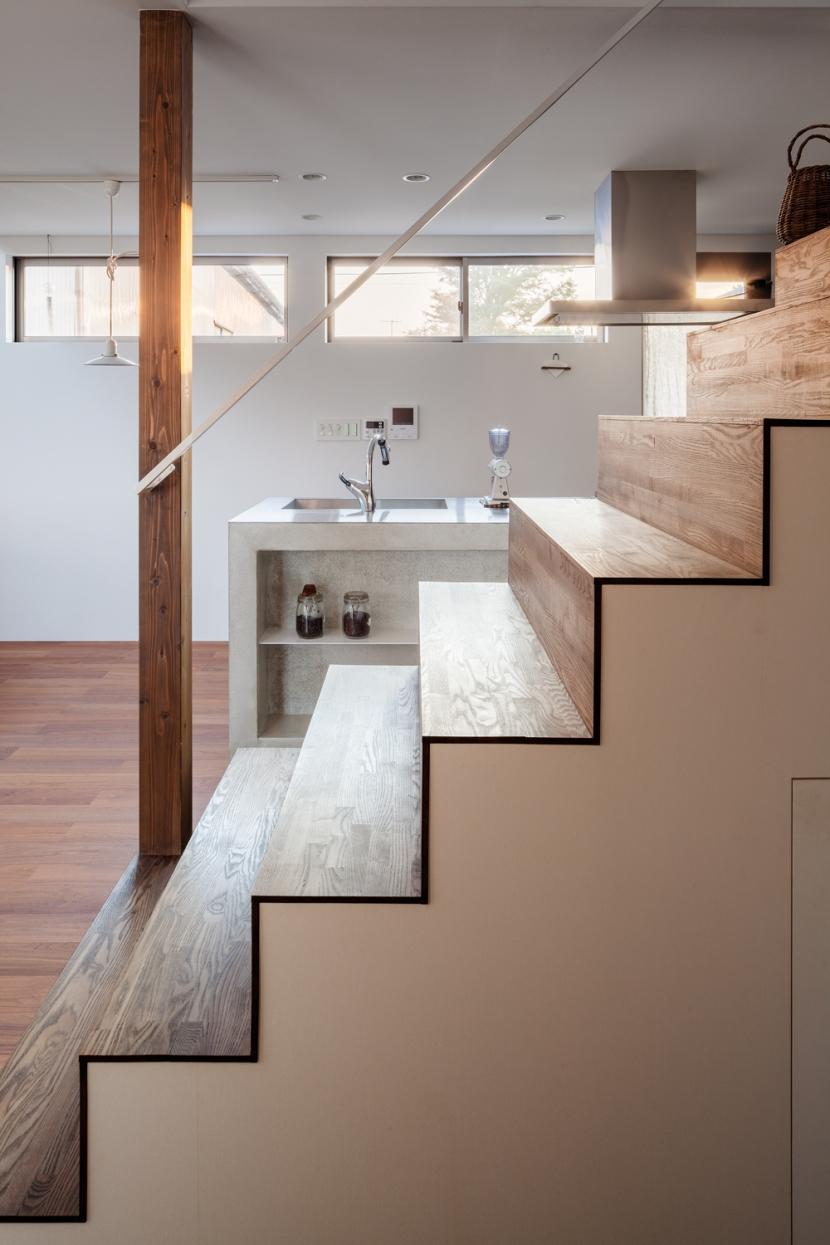 たぐうの家の部屋 たぐうの家 階段