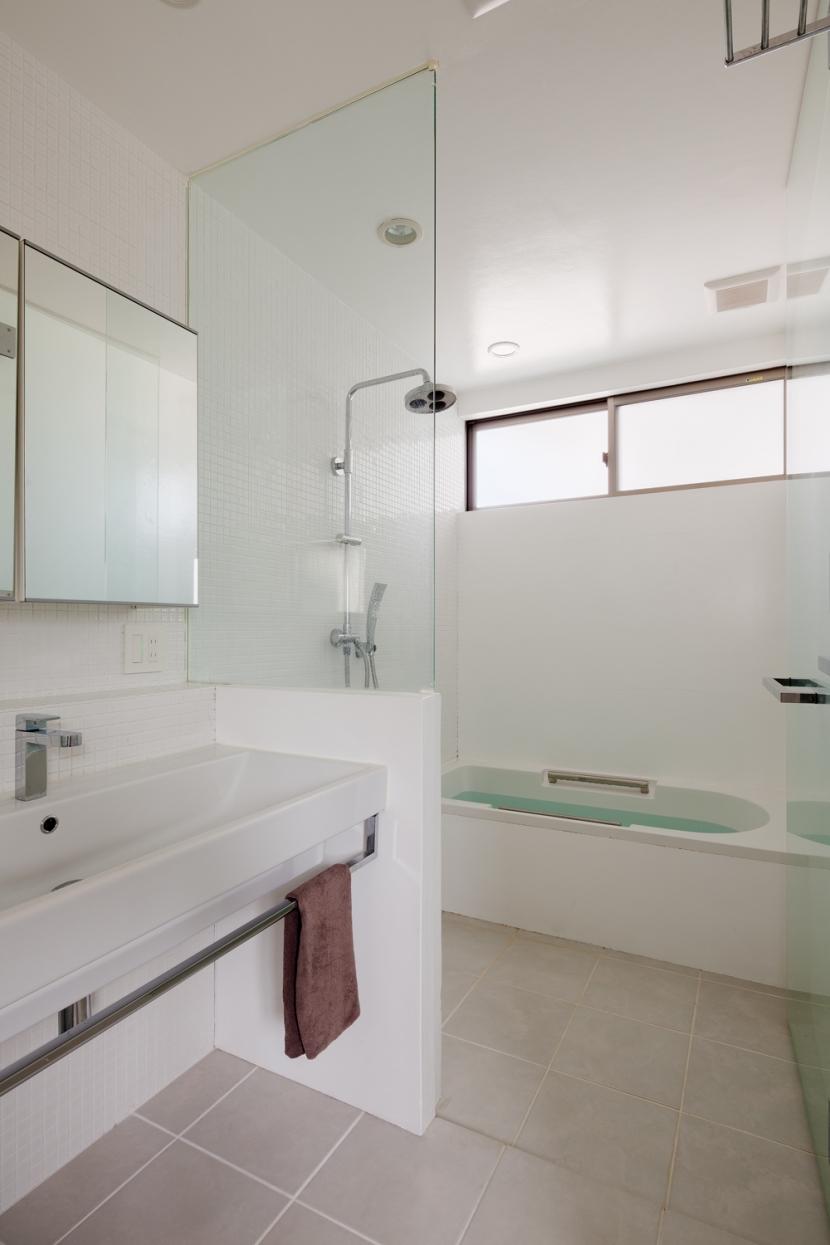 たぐうの家の部屋 たぐうの家 洗面所