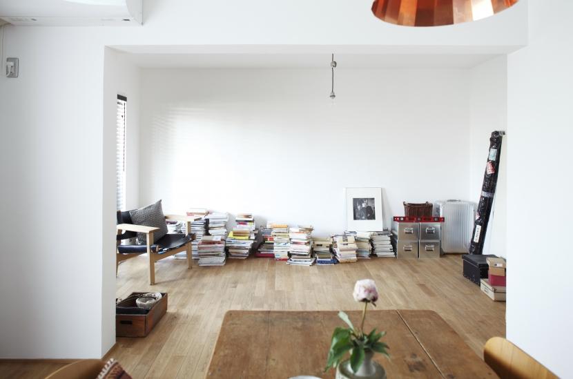 画家の家の部屋 画家の家 リビング