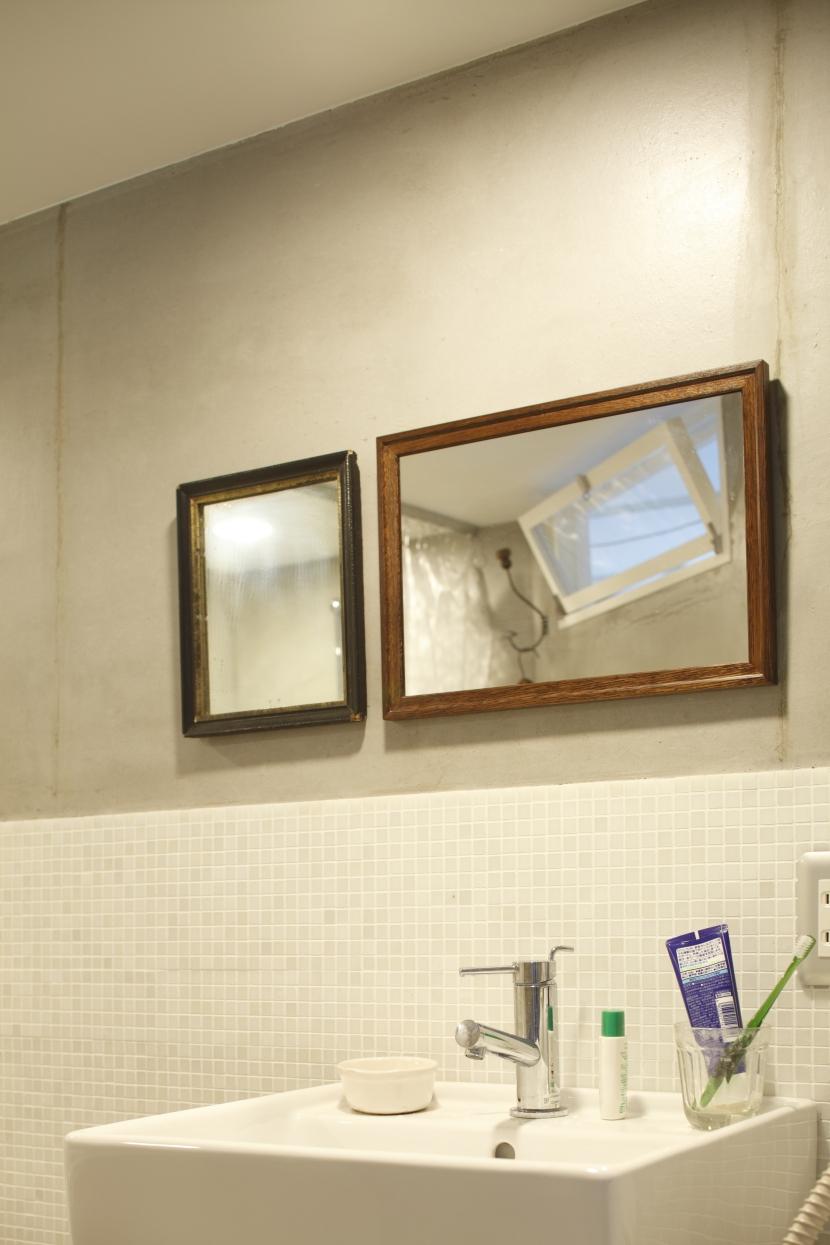 画家の家の部屋 画家の家 洗面所
