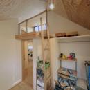 ロフトでつながる大屋根の家の写真 子ども部屋2