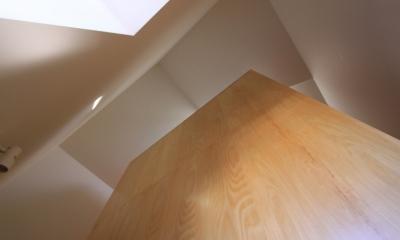 オウチ12・木箱の入った家 (家の中の木箱)