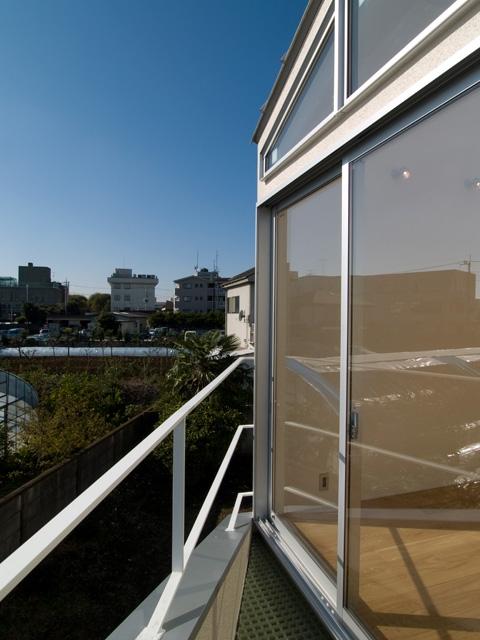 向日葵の家の写真 テラス