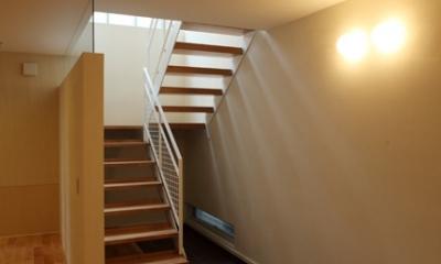 欠けない家 (階段)