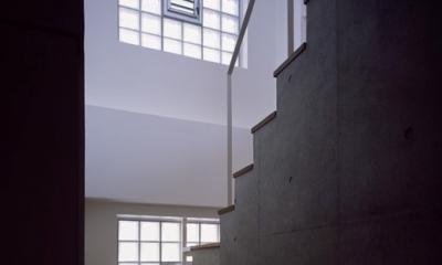 上用賀ハウス (階段)